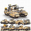billiga Building Blocks-Byggklossar Militära block fordons lekset 800+ Militär kompatibel Legoing Simulering Militärfordon Alla Leksaker Present / Barn / Utbildningsleksak