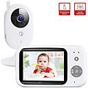 Χαμηλού Κόστους Συσκευές Παρακολούθησης Μωρού-didseth ασύρματο βίντεο έγχρωμο βίντεο μωρό monitor ntsc 352 x 240 ip κάμερα με 3.2 ιντσών lcd IR κάμερα 2 τρόποι ήχου ομιλία νυχτερινή όραση επιτήρηση κάμερα ασφαλείας