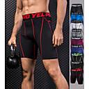 Χαμηλού Κόστους Γυμναστική, τρέξιμο και ρούχα γιόγκα-YUERLIAN Ανδρικά Εφαρμοστά σορτς Μαύρο Μαύρο / Κόκκινο Πράσινο / Μαύρο Μπορντώ Μπλε Τρέξιμο Fitness Γυμναστήριο προπόνηση Κοντά Παντελονάκια Εσώρουχα Αθλητισμός Ρούχα Γυμναστικής / Υψηλή Ελαστικότητα
