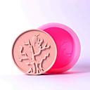 Χαμηλού Κόστους Εργαλεία Διακόσμησης-δέντρο και πουλί σχήματος σαπούνι μούχλα σιλικόνης μύκητας DIY εργαλείο χειροποίητα καλούπια σαπουνιού