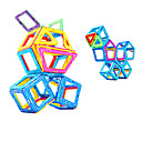 Χαμηλού Κόστους Μαγνητικά τουβλάκια-Μαγνητικό μπλοκ Μαγνητικά πλακίδια 60 pcs γεωμετρική Pattern Όλα Αγορίστικα Κοριτσίστικα Παιχνίδια Δώρο