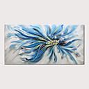 billiga Blom-/växtmålningar-Hang målad oljemålning HANDMÅLAD - Abstrakt Djur Moderna Inkludera innerram