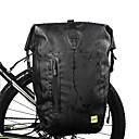 ราคาถูก แจ็กเก็ตรถจักรยานยนต์-25 L Bicycle Pannier Bag สายปรับได้ Large Capacity กันน้ำ Bike Bag PVC 1000D โพลีเอสเตอร์ Bicycle Bag Cycle Bag ปั่นจักรยาน จักรยาน / แถบสะท้อนแสง / ซิปกันน้ำ