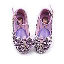 Χαμηλού Κόστους Χαμηλές γόβες για έφηβες-Κοριτσίστικα Λουλουδάτα φορέματα για κορίτσια Συνθετικά Χωρίς Τακούνι Τα μικρά παιδιά (4-7ys) / Μεγάλα παιδιά (7 ετών +) Φιόγκος / Πούλιες / Αγκράφα Βυσσινί / Μπλε / Ροζ Άνοιξη / Φθινόπωρο