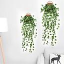 baratos Flores Artificiais & Vasos-90 cm festa em casa hotel decoração de parede decoração artificial melancia uvas folha de seda plantas planta folhas rattan videira