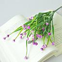 baratos Flores Artificiais & Vasos-flores artificiais 1 ramo clássico estilo simples estilo pastoral rosas plantas flor de mesa