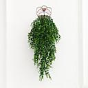 Χαμηλού Κόστους Ψεύτικα Λουλούδια-τεχνητό φόντο τοίχο φυτών βλαστούς τοίχο μπαστούνι τοίχο κρέμονται διακόσμηση