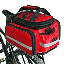 Χαμηλού Κόστους Τσάντες για σκελετό ποδηλάτου-FJQXZ Τσάντα αποσκευών για ποδήλατο / Διπλή τσάντα σέλας ποδηλάτου Τσάντες αποσκευών για ποδήλατο Μεγάλη χωρητικότητα Αδιάβροχη Ρυθμιζόμενο μέγεθος Τσάντα ποδηλάτου Νάιλον Τσάντα ποδηλάτου