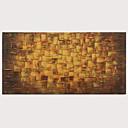 povoljno Apstraktno slikarstvo-Hang oslikana uljanim bojama Ručno oslikana - Sažetak Pop art Moderna Uključi Unutarnji okvir
