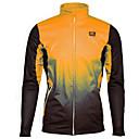 ราคาถูก เสื้อปั่นจักรยาน-Malciklo สำหรับผู้ชาย สำหรับผู้หญิง Cycling Jacket จักรยาน ฤดูหนาวแจ็คเก็ตขนแกะ กีฬา ฤดูหนาว สีเทาเข้ม / สีเขียว+สีดำ / สีส้มอมแดง+สีเทา เสื้อผ้าถัก Standard Fit Cycling Clothing / สำหรับเด็ก