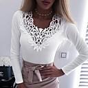 Χαμηλού Κόστους Σετ τσάντες-Γυναικεία T-shirt Μονόχρωμο Μαύρο