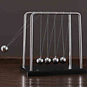 billiga Vetenskap & Upptäcktsset-Newtons vagga Stresslindrande leksaker Utbildningsleksak Gravity Type Metallornament Stress och ångest Relief Barn Pojkar Flickor Leksaker Present 1 pcs