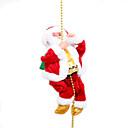 baratos Brinquedos de Natal-Presentes de Natal Férias Pessoas Ternos de Papai Noel Espumante Elétrico Plástico Suave Tecido Traçado Crianças Brinquedos Dom