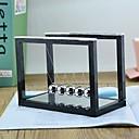 billige Kunsthåndverk-newtons vugge, 5 pendelkuler, store newtons vuggebalanse, metallkuler for kontorleker, fysikkleker, lærerleker, stålkuleleketøy, metallkulependel