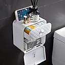 billige Vekkerklokker-Toalettrullholder Flerlags / Nytt Design / Selvklebende Tradisjonell / Moderne A-klasse ABS 1pc Vægmonteret