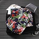 billiga Jo-jos-Aloha Hula dansare Vuxna Herr Dam Ledigt Strandstil T-shirt Hawaiiska dräkter Luau Kostymer Till Party Ledigt / vardag Festival Polyster Blus