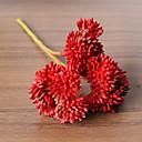 Χαμηλού Κόστους Ψεύτικα Λουλούδια-Ψεύτικα λουλούδια 1 Κλαδί Κλασσικό Σύγχρονη Σύγχρονη Υποαλλεργικά φυτά Λουλούδι για Τραπέζι