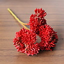 baratos Plantas Artificiais-Flores artificiais 1 Ramo Clássico Contemporâneo Moderno Plantas suculentas Flor de Mesa
