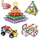 cheap Magnetic Building Blocks-Magnetic Blocks Magnetic Sticks Magnetic Tiles 157 pcs Parent-child Games Eiffel Tower Magnetic Novelty Boys' Girls' Toy Gift / Building Blocks