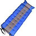 Χαμηλού Κόστους Μπλουζάκια για κορίτσια-Αυτοεπιπεδούμενο υπνόσακο Μαξιλάρι αέρα Εξωτερική Φορητό Υδατοστεγανό Άνετο Πολυεστέρας PVC 190*60*5 cm Ψάρεμα Παραλία Κατασκήνωση Φθινόπωρο Άνοιξη Καλοκαίρι Πορτοκαλί Κόκκινο Μπλε / Κάντε διπλό