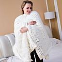 Χαμηλού Κόστους Κουβέρτες & Ριχτάρια-Κουβέρτες κρεβατιών, Συμπαγές Χρώμα Ακρυλικές Ίνες Comfy κουβέρτες