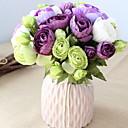 baratos Plantas Artificiais-Flores artificiais 10 Ramo Clássico Estiloso Camélia