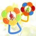 billiga Babyleksaker-högkvalitativ abs färgrik tecknad modellering bebis barn solros tänder bita skallror leksaker bebis leksaker pedagogiska leksaker