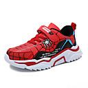 Χαμηλού Κόστους Παιδικά αθλητικά παπούτσια-Αγορίστικα Ανατομικό PU Αθλητικά Παπούτσια Μεγάλα παιδιά (7 ετών +) Περπάτημα Κόκκινο / Μπλε Χειμώνας
