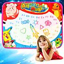 baratos Desenho Brinquedos-Water Drawing Play Mat Brinquedo para Desenhar Pintura Simples Interação pai-filho Crianças Brinquedos Dom 1 pcs