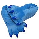 Χαμηλού Κόστους Περούκες από Ανθρώπινη Τρίχα-Ενηλίκων Παντόφλες Kigurumi Monster Άνιμαλ Πιτζάμα Onesie Βαμβάκι Σκούρο πράσινο / Κίτρινο / Μπλε Cosplay Για Άνδρες και Γυναίκες ζώο Πυτζάμες Κινούμενα σχέδια Γιορτές / Διακοπές Κοστούμια