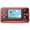 baratos Consoles de Videogames-gb-9x portátil consola de jogos portátil para crianças sistema arcade consolas de jogos de vídeo game player com 2,5 cores lcd e 168 jogos retro clássicos built-in grande presente de aniversário para
