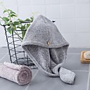 billige Badehåndkle-Overlegen kvalitet Badehåndkle, Ensfarget Polyester / Bomull Baderom 1 pcs