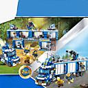 baratos Blocos de Montar-Blocos de Construir Blocos Militares Playsets veículos 707 pcs compatível Legoing Simulação Carro de Polícia Todos Brinquedos Dom / Crianças / Brinquedo Educativo