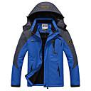 ราคาถูก กระเป๋าตังค์-สำหรับผู้ชาย Ski Jacket รักษาให้อุ่น กันน้ำ กันลม Skiing แคมป์ปิ้ง & การปีนเขา Snowboarding 100% โพลีเอสเตอร์ แจ็คเก็ตฤดูหนาว Ski Wear