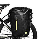 Χαμηλού Κόστους Συνθετικές περούκες με δαντέλα-25 L Πάνινη τσάντα ποδηλάτου Προσαρμόσιμη Μεγάλη χωρητικότητα Αδιάβροχη Τσάντα ποδηλάτου PVC 1000D Πολυεστέρας Τσάντα ποδηλάτου Τσάντα ποδηλασίας Ποδηλασία Ποδήλατο / Αντανακλαστικές Λωρίδες