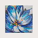 Χαμηλού Κόστους Ελαιογραφίες-Hang-ζωγραφισμένα ελαιογραφία Ζωγραφισμένα στο χέρι - Άνθινο / Βοτανικό Μοντέρνα Περιλαμβάνει εσωτερικό πλαίσιο
