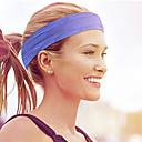 Χαμηλού Κόστους Καπέλα, κάλτσες και θερμαντικά χεριών για τρέξιμο-Κεφαλές για Τρέξιμο Φυσική Κάτάσταση Τζόγκινγκ Ύγρανση Άνετο Ανθεκτικό Ανδρικά Γυναικεία Βαμβακερό / Πολυεστέρας 1 Τεμάχιο Αθλήματα & Ύπαιθρος Μαύρο Σκούρο γκρι Βυσσινί