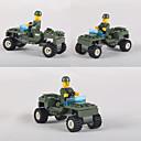 Χαμηλού Κόστους Συμπλέγματα μπλοκαρίσματος-Τουβλάκια Kit de Construit Αγωνιστικό αυτοκίνητο Αυτοκίνητο Μαλακό Πλαστικό 1 pcs Παιδικά Παιχνίδια Δώρο