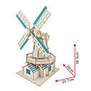 Χαμηλού Κόστους Μοντέλα και μοντέλα-Παζλ 3D Ξύλινα μοντέλα Διάσημο κτίριο Κινεζική αρχιτεκτονική Διασκέδαση Ξύλο Κλασσικό Παιδικά Γιούνισεξ Παιχνίδια Δώρο