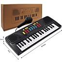 billige Lekeinstrumenter-Elektronisk keyboard Piano Moro Med en mikrofon Barne Gave Gutt Jente Gave