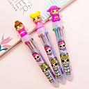 Χαμηλού Κόστους Στυλό & Γράψτε-Πολύχρωμα χρώματα Στυλό διαρκείας PVC Πλαστικό 1 pcs