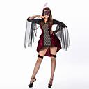 Χαμηλού Κόστους Κοστούμια για Ενήλικες-Vampires Φορέματα Στολές Ηρώων Ενηλίκων Γυναικεία Σύνολα Halloween Halloween Μασκάρεμα Γιορτές / Διακοπές Τούλι Πολυεστέρας Μαύρο Αποκριάτικα Κοστούμια Patchwork