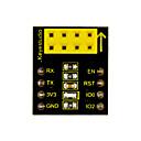 baratos Módulos-keyestudio esp-01s placa adaptadora do módulo wifi para arduino (preto e ecológico)