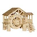 billiga 3D-pussel-Pussel Träpussel Byggblock GDS-leksaker Känd byggnad Kinesisk arkitektur Hus 1 Trä Kristall Modell- och byggleksak