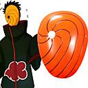 Χαμηλού Κόστους Χειροπέδες-Μάσκα Εμπνευσμένη από Naruto Akatsuki Anime Αξεσουάρ για Στολές Ηρώων Μάσκα PVC Ανδρικά καυτό Αποκριάτικες Στολές