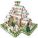 billige Stearinlysdesign-CUTE ROOM 3D-puslespill Modellsett Tremodeller GDS Tre Barne Voksne Gutt Jente Leketøy Gave