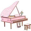billiga 3D-pussel-Aipin 3D-pussel Träpussel Trämodeller Piano Metall Pojkar Flickor Leksaker Present / Barn