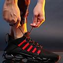 baratos Sandálias Masculinas-Homens Sapatos Confortáveis Couro Ecológico Inverno Tênis Corrida Botas Curtas / Ankle Preto / Branco / Vermelho