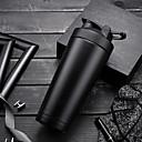 billige Hydrering og filtrering-Kopp vannkoker 720 ml Rustfritt stål Isolert til Camping & Fjellvandring Jakt og fiske Camping / Vandring / Grotte Udforskning Svart Himmelblå Sølv Grønn Rød