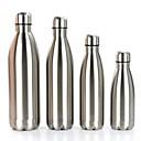 billige Vannflasker-Drikkeglas vacuum Cup Rustfritt Stål Bærbar Fritid / hverdag